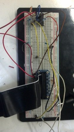 the implemented circuit